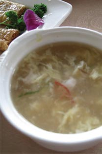 Auntie Song's fish stew - This fish soup from Lou Wai Lou is packed full of umami and very smooth.