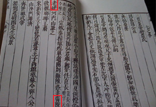 With just four chinese characters (outlined in red), Lu Yu writes about the strange old woman whose tea pot was never empty in the Chajing or 'Tea Classic'.