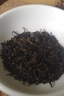 The exquisite Royal Qimen Black tea that is made for Queen Elizabeth II.