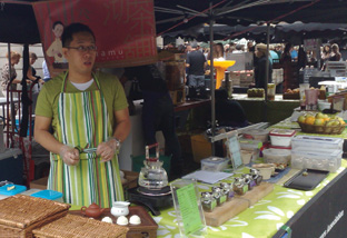 teanamu first market stall at covent garden piazza
