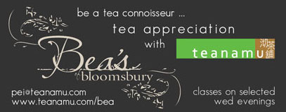 teanamu tea masterclass at Bea's of Bloomsbury
