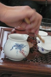teanamu serving tea with respect - Serene and fragrant tea entices with promise of rapture in store