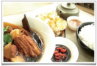 Bak Kut Teh - a famous traditional Singaporean and Malaysia pork ribs ...