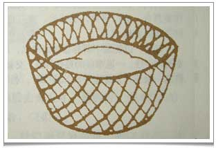 Lu Yu Chajing Chapter 4: 'Ben' is a basket woven from grass that can hold up to 10 tea drinking bowls.