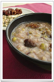 A sweet and nourishing La Ba congee to usher in the new year!