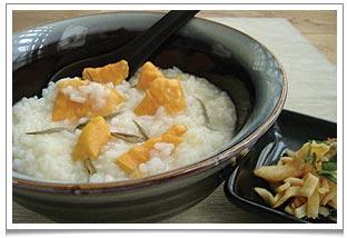 Oolong Sweet Potato Congee