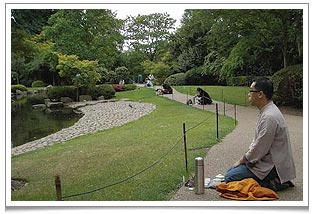 MedTEAtation at Kyoto Garden in Holland Park this summer.