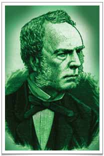 The distinguished Scottish botanist/spy Robert Fortune, every inch the Victorian gentleman.