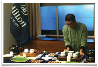We have also hosted several tea ceremonies at corporate events