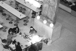 Tea Appreciation Taster Workshops at The British Museum - Setting up tea taster workshop at the Great Court