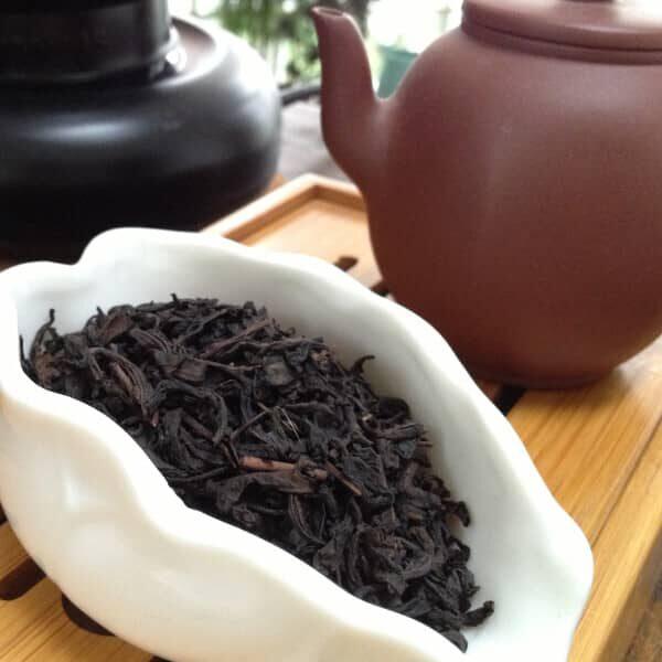 Teanamu chaya teahouse rare & aged tea tian jian heavenly buds 2004 vintage