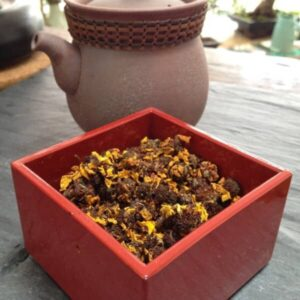 Teanamu chaya teahouse herbal tisane:- snow chrysanthemum