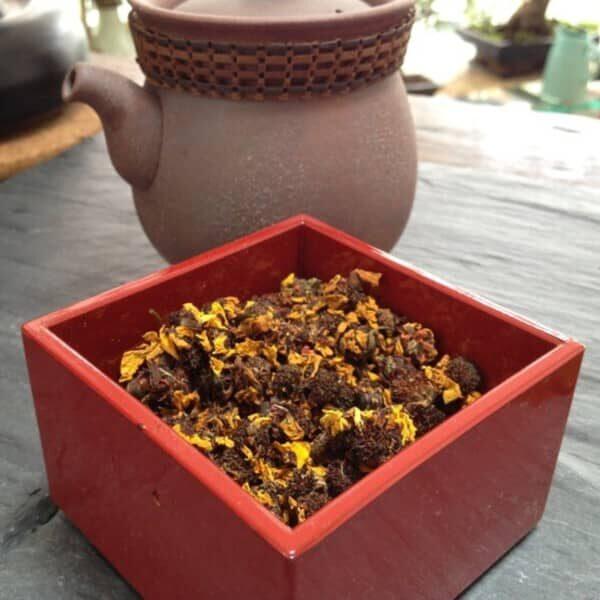 Teanamu chaya teahouse herbal tisane:- snow chrysanthemum