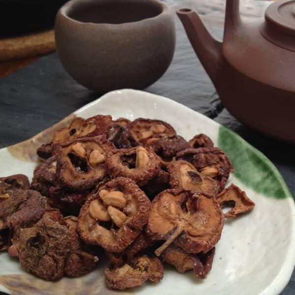 Teanamu chaya teahouse herbal tisane hawthorne fruits