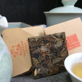 Teanamu Chaya Teahouse's White tea collection: Kumquat Peony Thins