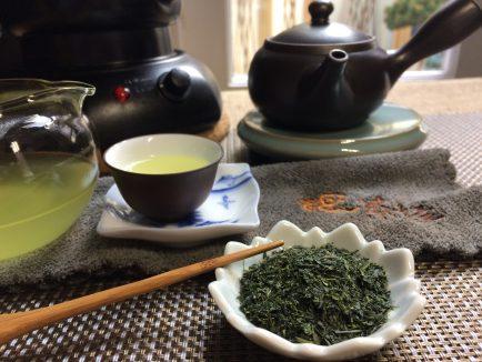 chaya teahouse's japanese green tea sencha miya