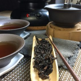 chaya teahouse's wuyi oolong tea: yugui