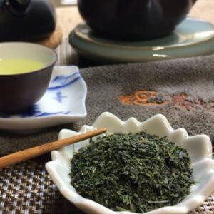 Sencha Miya Japanese Green Tea @ Teanamu Chaya Teahouse