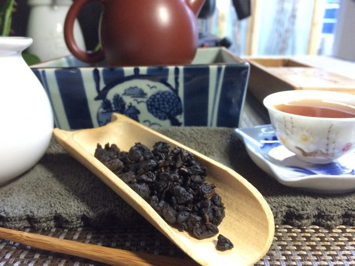 Longan Iron Goddess of Mercy Oolong Tea