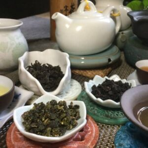 teanamu chaya teahouse oolong tea tasting three goddesses