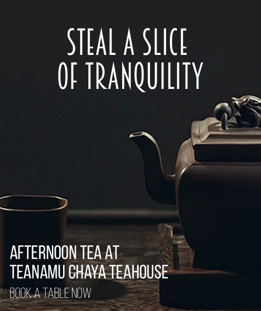 Afternoon Tea @ Teanamu Chaya Teahouse