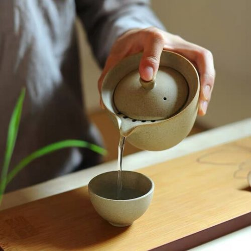 The Wandering Songstress Tea Set for Two @ Teanamu Chaya Teahouse
