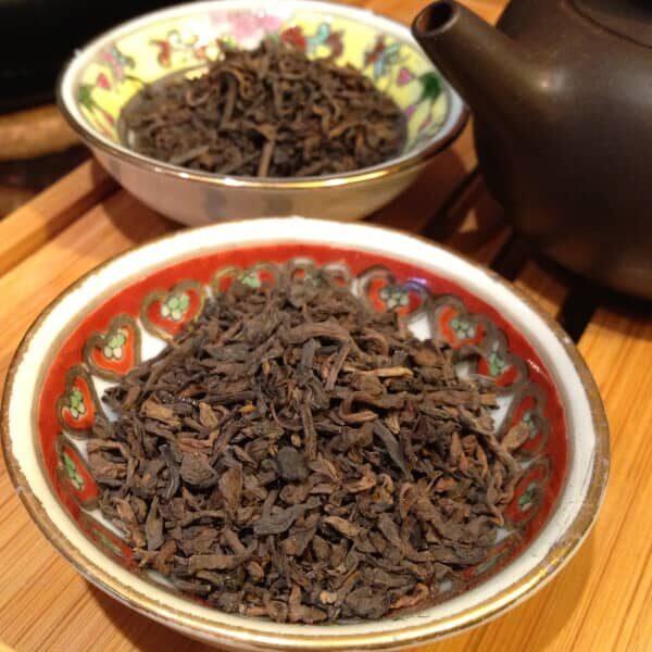 teanamu chaya teahouse red tea emperor pu erh