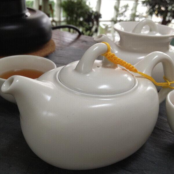 teanamu chaya teahouse teaware puffer fish tea set